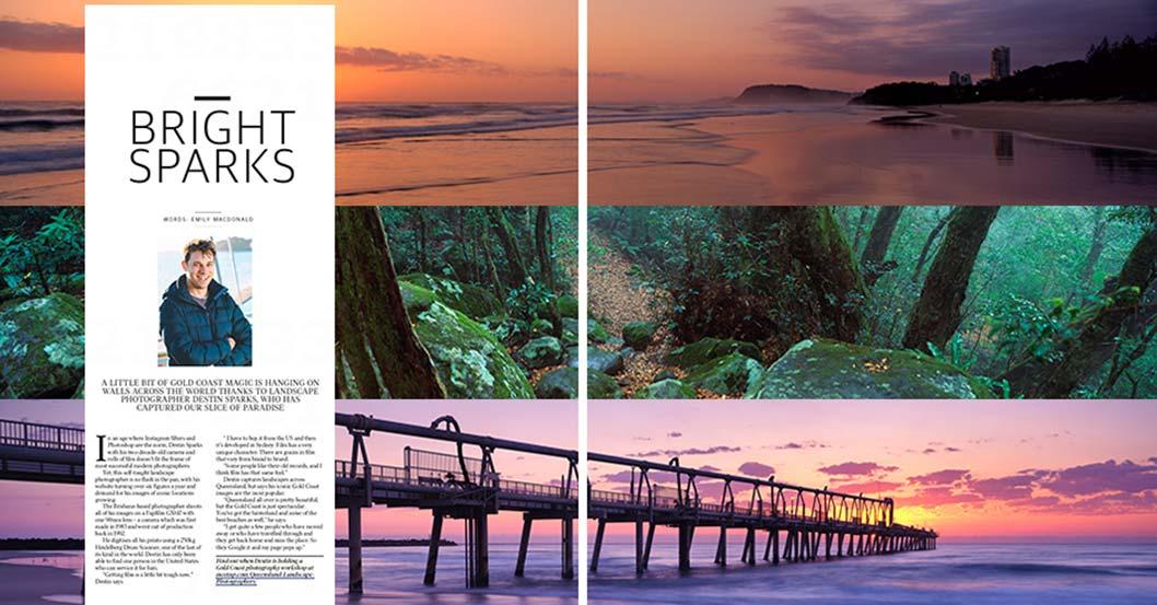 Gold Coast Bulletin - Destin Sparks